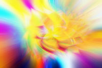 Background of rainbow swirling flower texture