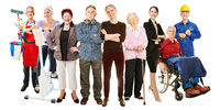 Menschen aktiv im Alter als Konzept für Gesellschaft