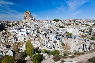 Ortahisar cave city in Capapdocia