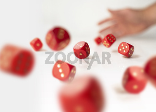 Rolling dices
