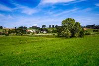 Idyllic landscape in Bavaria