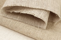 Sample of unbleached fabric