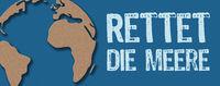 Paper cut - Save the oceans in german - Rettet die Meere