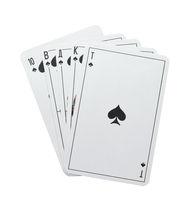 Poker royal flush spades
