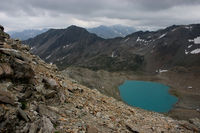 Rauhe Bergwelt