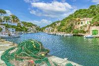Cala Figuera ist ein kleiner Ort und eine Bucht im Südosten der spanischen Baleareninsel Mallorca