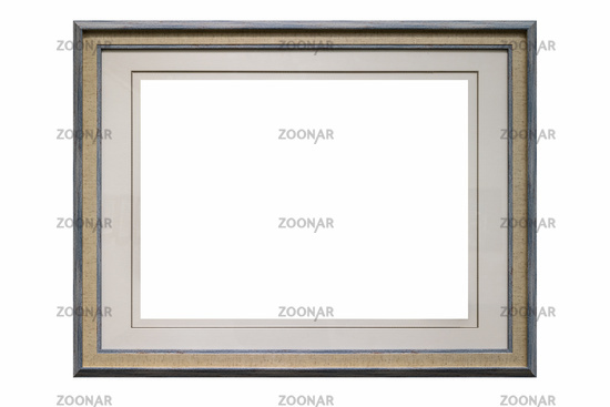 simple and elegant picture frame isolated
