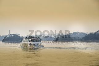 Image of Matsushimas pleasure boat