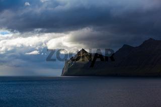 coast of the Faroe Islands