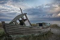 verlassenes Fischerboot