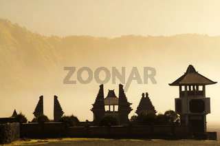 Hindu temple beside Mt. Bromo, Indonesia