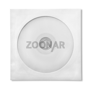 CD with paper case