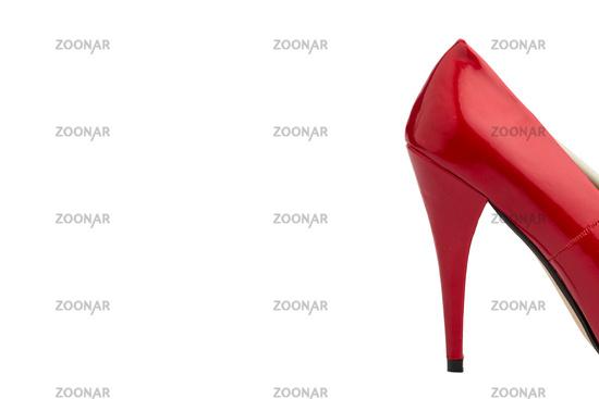Roter Damen Stöckelschuh