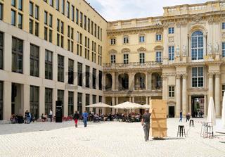 Der Schlüterhof im neu errichteten Humboldt Forum