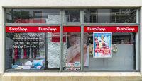 Filiale der Firma Euroshop in Kempten