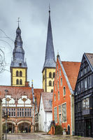 Market Square of Lemgo, Germany