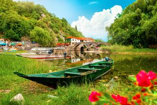 Rijeka Crnojevica and boat