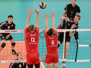 Volleyball - DVV-Pokal-Finale MŠnner - Generali Haching vs. Moerser SC