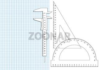 Linieal- Milimeterpapier.eps