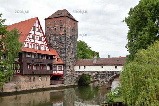 View of Nuremberg in Germany
