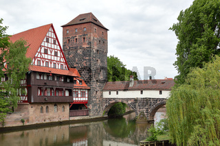 View of Nuremberg in Germany