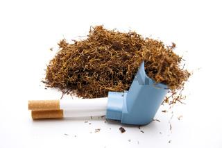 Tabak mit Inhaler