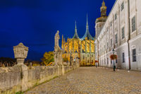 St Barbara church in town Kutna Hora - Czech Republic