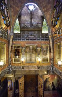 Barcelona. Catalonia. Spain. Palau Guell by Gaudi