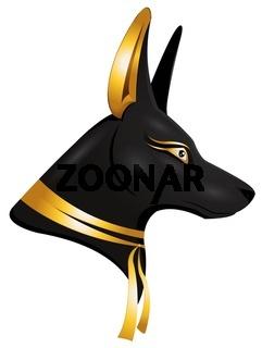 der ägyptische Gott Anubis