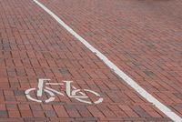 bike lane on road