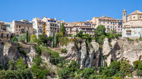 Cuenca - Houses on the very brink of cliff