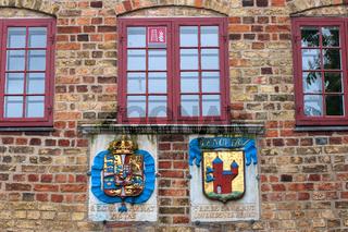 Hausfassaden 007. Flensburg. Deutschland