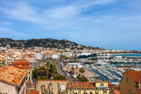 Cannes City in France