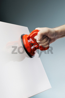 Suction cup tool