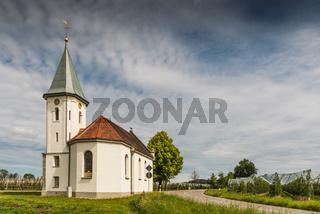 Kapelle bei Kressbronn am Bodensee, Baden-Württemberg, Deutschland