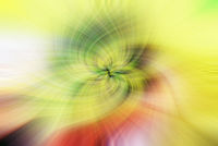 Background of yellow and green swirling flower texture