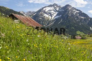 Kleinwalsertal in Österreich