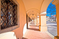Town of Bjelovar architecture street view