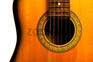 acoustic guitar central part