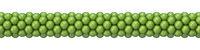 Green balloons decoration 3D