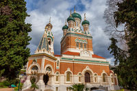 St Nicholas Orthodox Cathedral in Nice