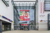 Einkaufszentrum in Kempten im Allgäu