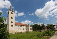Schloss Hessen Nordharz Stempelstelle Burgen und Schlösser Harzer Wandernadel