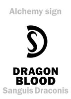 Alchemy: DRAGON's BLOOD (Sanguis Draconis)