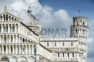 Cathedral Santa Maria Assunta and Leaning Tower of Pisa