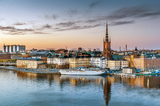 View of Riddarholmen, Stockholm, Sweden