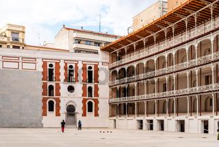 The Beti Jai fronton in Madrid, Spain