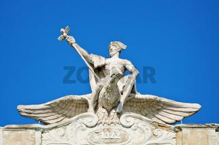 Man On Eagle