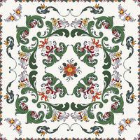 Rosemaling vector pattern 11