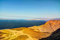 Gulf of Tadjoura and Ghoubet lake Djibouti